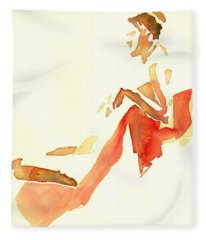 Kroki 2015 03 28_29 Maalarhelg 4 Akvarell Watercolor Figure Drawing Fleece Blanket