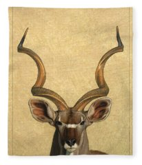 Kudu Fleece Blanket