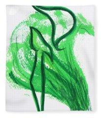 Kuf In The Reeds Fleece Blanket