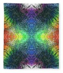 Kundalini Awakening #1552 Fleece Blanket