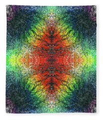 Kundalini Awakening #1554 Fleece Blanket