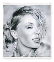Kylie Minogue Fleece Blanket