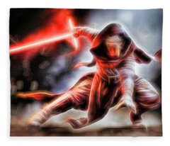 Kylo Ren I Will Fulfill Our Destiny Fleece Blanket