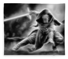 Kylo Ren Nothing Will Stand In Our Way Fleece Blanket