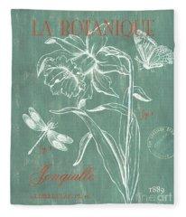 La Botanique Aqua Fleece Blanket