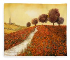 Landscapes Fleece Blankets