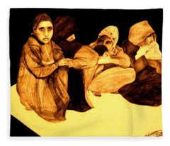 La It Khafeen Habibti Fleece Blanket