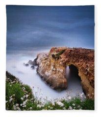La Jolla Cove Fleece Blanket