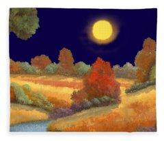 La Musica Della Notte Fleece Blanket