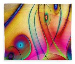 La Musica Llena El Aire Fleece Blanket