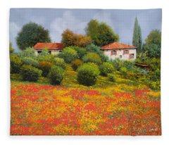 La Nuova Estate Fleece Blanket