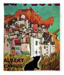 La Peste  Albert Camus Poster Fleece Blanket