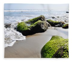 La Piedra Shore Malibu Fleece Blanket