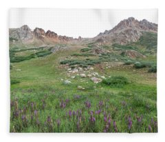 La Plata Peak Fleece Blanket