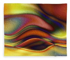 La Puesta Del Sol Fleece Blanket
