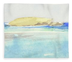 La Tortue, St Barthelemy, 1996 100x60 Cm Fleece Blanket