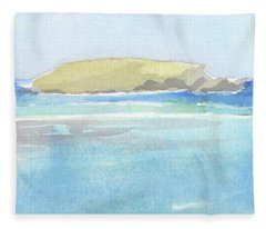 La Tortue, St Barthelemy, 1996_0046 60x35 Cm Fleece Blanket