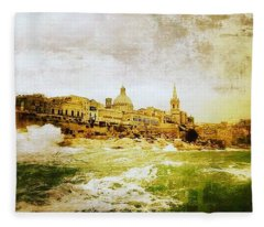 La Valletta Fleece Blanket