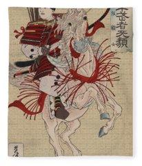 Lady Hangaku Fleece Blanket