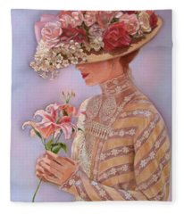 Lady Jessica Fleece Blanket