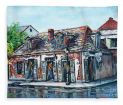 Lafitte's Blacksmith Shop Fleece Blanket