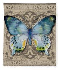 Laglaizei Butterfly Design Fleece Blanket