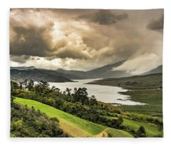 Lago Calima Fleece Blanket