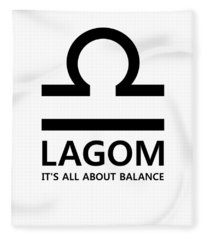 Lagom - Balance Fleece Blanket