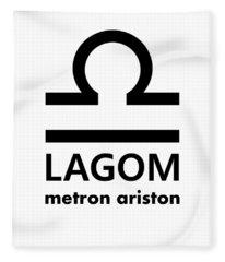 Lagom - Metron Ariston Fleece Blanket