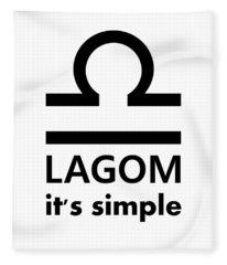 Lagom - Simple Fleece Blanket
