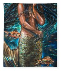 Lailani Mermaid Fleece Blanket