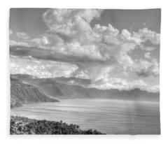 Lake Atitlan Guatemala Fleece Blanket
