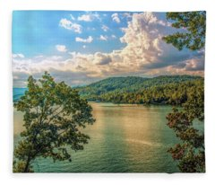 Lake Burton Fleece Blanket