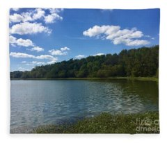 Lake Conestee Fleece Blanket