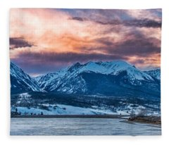 Lake Dillon Fleece Blanket