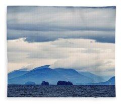 Lake George Is The Queen Of American Lakes Fleece Blanket