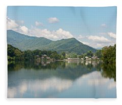 Lake Junaluska #1 - September 9 2016 Fleece Blanket