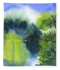 Lake Mayer Lakeside Fleece Blanket