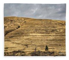 Lake Missoula Fleece Blanket
