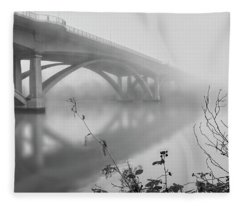 Lake Natoma Crossing Fleece Blanket