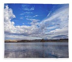 Lake Powell In The Morning Fleece Blanket