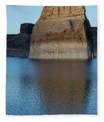 Lake Powell Monolith Fleece Blanket