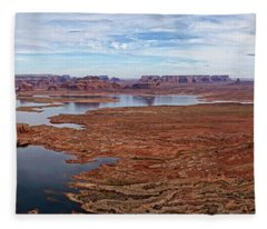 Lake Powell Vista Fleece Blanket
