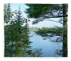 Lake Ruth Fleece Blanket