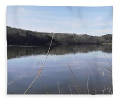 Lake Zwerner Early Spring Fleece Blanket