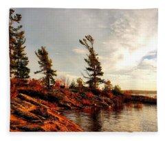 Lakeshore Fleece Blanket