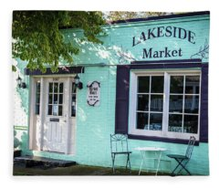 Lakeside Market Fleece Blanket