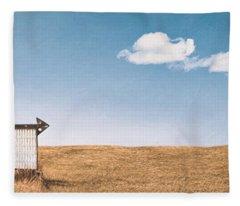 Lamp-lite Motel Fleece Blanket