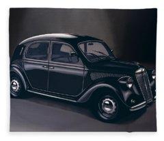 Lancia Ardea 1939 Painting Fleece Blanket