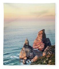 Land Of Eternal Sunset Fleece Blanket